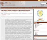 Introduction to Guidance and Counseling