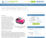 Exploring Energy: Energy Conversion