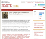 EDSITEment's Guide to Black History Month Teaching Resources