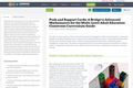 Push and Support Cards: A Bridge to Advanced Mathematics for the Multi-Level Adult Education Classroom Curriculum Guide