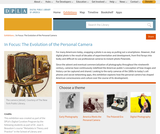 In Focus: The Evolution of the Personal Camera