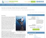 Robot Sensors and Sound