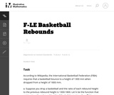 Basketball Rebounds