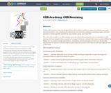 OER Academy: OER Remixing