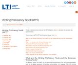 Writing Proficiency Test