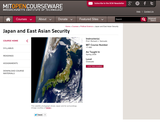Japan and East Asian Security, Spring 2008