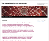 Utah Middle School Math Project - 8th Grade