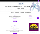 Washington Family & Consumer Sciences Educators – A Section of WA-ACTE – Washington Association of Career & Technical Educators