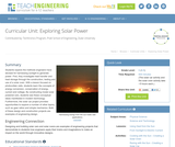 Exploring Solar Power