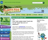 Climate Kids: Planet Health Report: AIR