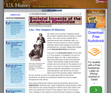 12a. The Impact of Slavery