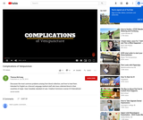 """Complications of Venipuncture"" YouTube video"