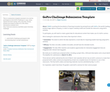 GoPro Challenge Submission Template