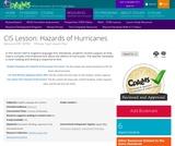 CIS Lesson: Hazards of Hurricanes