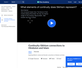 Continuity-Sikhism connections to Hinduism and Islam