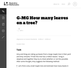 How Many Leaves on a Tree?