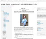 WR 121: English Composition - OER (Public) Version