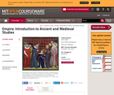Empire: Introduction to Ancient and Medieval Studies, Fall 2012