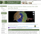 Energy Consumption Rates across the USA and the World