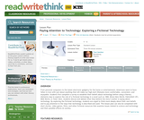 Paying Attention to Technology: Exploring a Fictional Technology