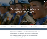 CFR Interactive Report: Women's Participation in Peace Processes