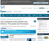 Late Nineteenth-Century Britain and America: the People and the Empire