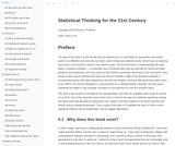 Statistical Thinking for the 21st Century
