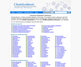 Chemical Synthesis Database