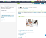 Image, Video and Audio Resources
