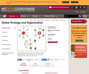 strategies organising coursework Our strategic planning processes will collect input from public course schedule individual service strategies can help your organization determine which will.