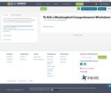 To Kill a Mockingbird Comprehensive Worksheet