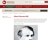 Reading Like a Historian: Albert Parsons SAC