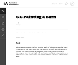 Painting a Barn