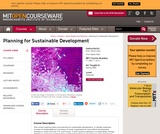 Planning for Sustainable Development, Spring 2006