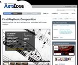 First Rhythmic Composition