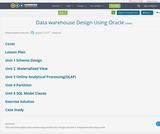 Data warehouse Design Using Oracle