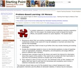 Problem-Based Learning: UV Menace