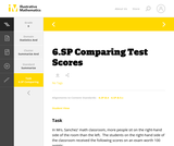 6.SP Comparing Test Scores