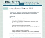 Analysis of Occupational Change Data, 1950-1990