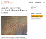 Cave Art: Discovering Prehistoric Humans through Pictures