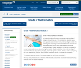 Grade 7 Module 2: Rational Numbers