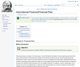 Module 6: Financial Plan