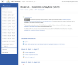 BA 101B - Business Analytics