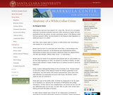 Anatomy of a White Collar Crime