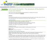 Let's Build the Earth!:  The Structure of the Earth's Crust and Interior