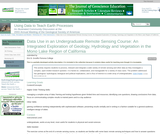 Data Use in an Undergraduate Remote Sensing Course