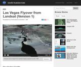 Las Vegas Flyover from Landsat 1