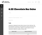 Chocolate Bar Sales