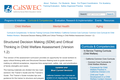 Structured Decision Making (SDM) and Critical Thinking in Child Welfare Assessment (Version 1.2)