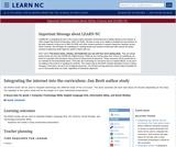 Integrating the Internet Into the Curriculum: Jan Brett Author Study